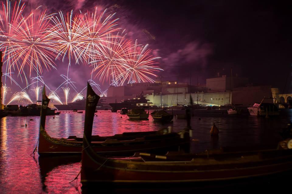 Uluslararası Havai Fişek Festivali, Malta