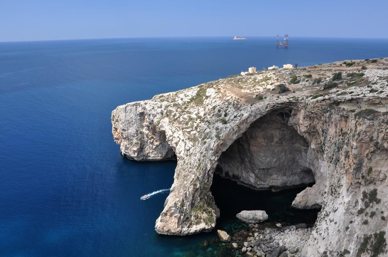 Malta'da Gezilecek Yerler: Blue Grotto