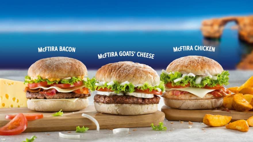 Malta'nın İlk Kendine Özgü Hamburgeri: McFtira